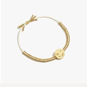 Madewell beaded slider bracelet